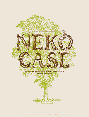 Neko Case Poster by Jason Munn