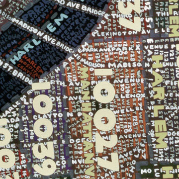Paula Scher - Manhatten detail