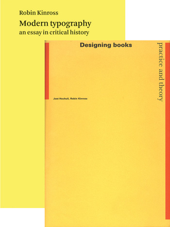 Modern Typography and Designing Books