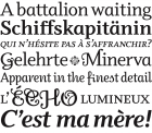 Odile fonts