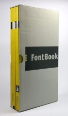 The first two editions of FontBook, 1993 and 1995. Photo by Henning Krause.