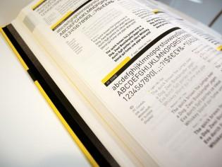 FontBook 4: interior page
