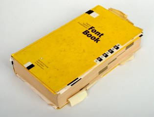 FontBook 1998, the 3rd edition. Photo by Henning Krause.