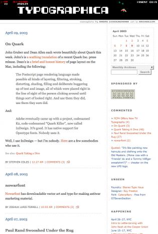 Ye Olde Typographica