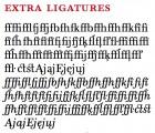 Bonesana ligatures