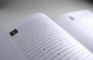 """""""Explorations in Typography"""" paragraph separations"""