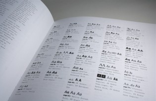 """""""Explorations in Typography"""" typeface combinations"""