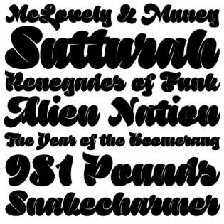 Sutturah fonts