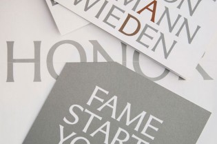 Pentagram's identity for the 2010 Art Directors Club Hall of Fame Gala
