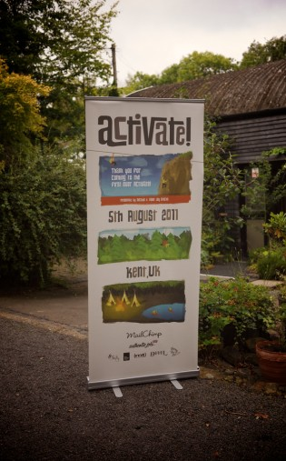 Elliot Jay Stocks' design for the Activate conference in Kent, UK