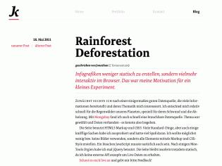 FF Tundra Web in use on jonathan-krause.de