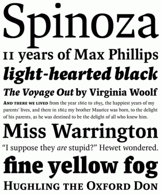 Spinoza-fonts