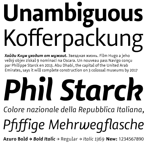 Azuro-fonts