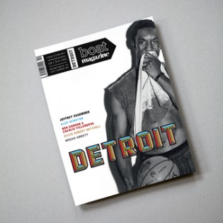 Detroit in use for Boat Magazine. Designer: Luke Tonge