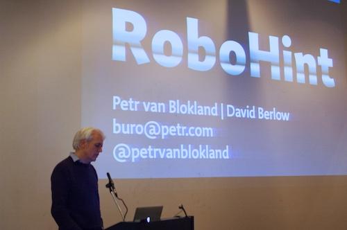 Petr van Blokland on RoboHint