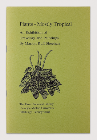 Courtesy of Hunt Institute for Botanical Documentation, Carnegie Mellon University, Pittsburgh. PA