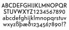 Telefon character set