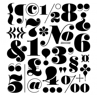 Worthe Numerals font
