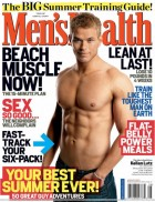 Heron Sans in Men's Health