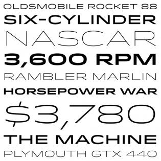Idlewild fonts