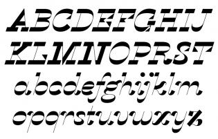 Karloff Negative Italic