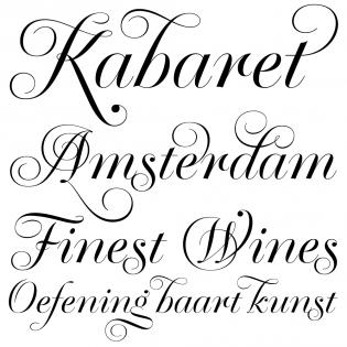 Krul font