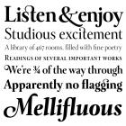 Levato fonts