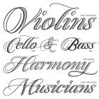 Quintet font family