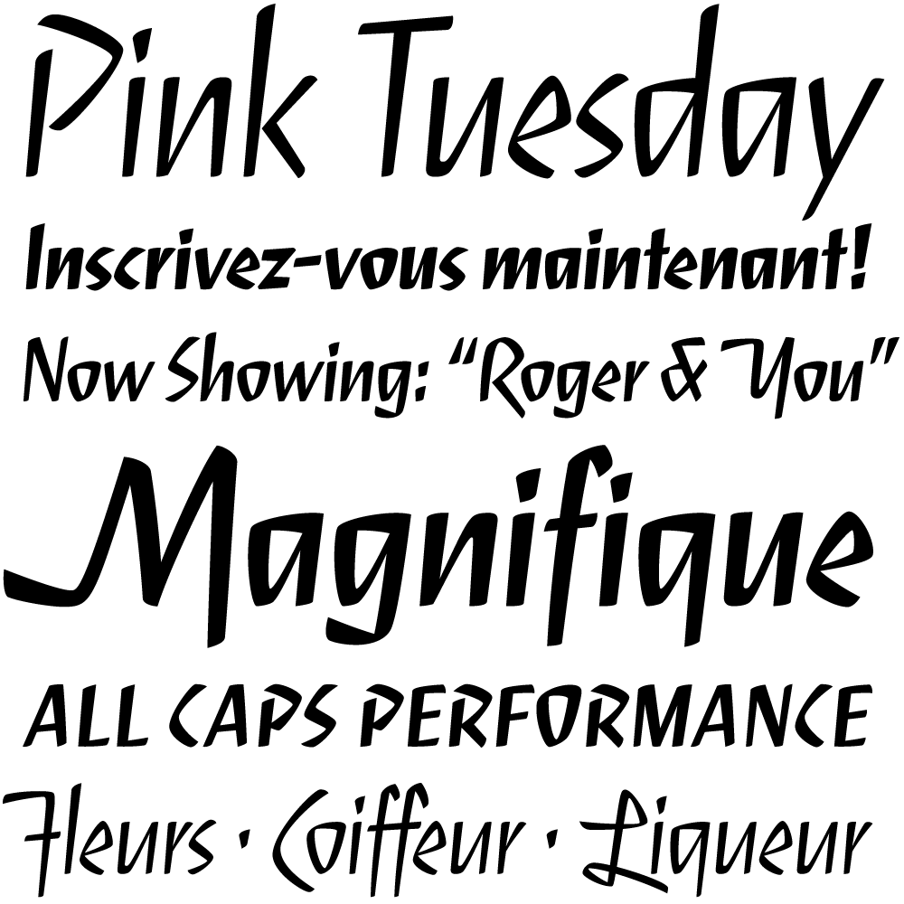Serge font family