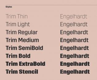 Trim styles