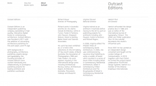 Outcast Editions: design and architecture books for iPad