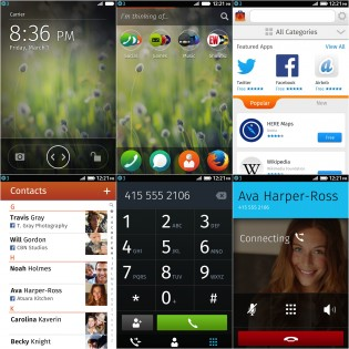 Fira in Firefox OS. (Images: Firefox Press Center)