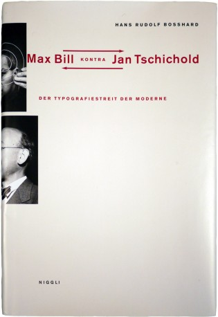 Max Bill kontra Jan Tschichold Cover