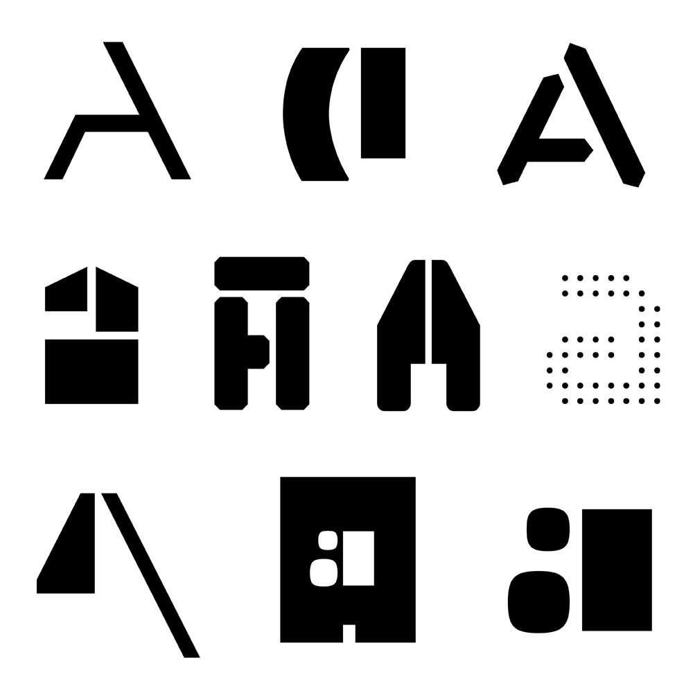 Apeloig Type Library fonts specimen