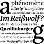 Eskorte               fonts specimen