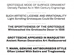 Founders Grotesk Text roman
