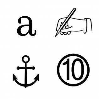 FF Quixo glyphs