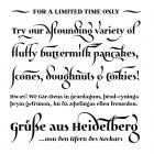 Maestrale               fonts specimen