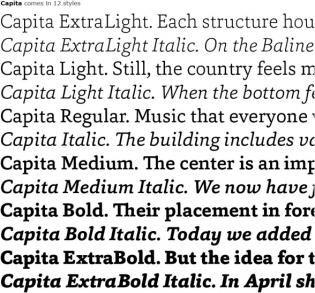 Capita styles
