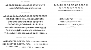 Founders Grotesk Text glyphs
