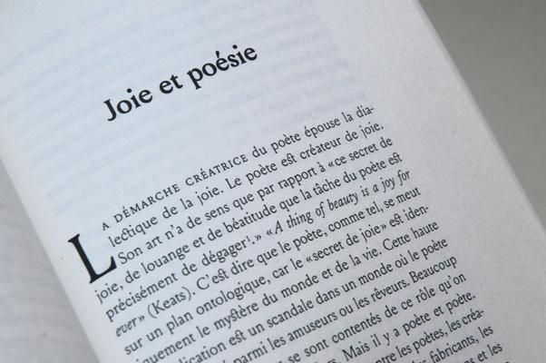 Louize in use for Claudel, humour, joie et liberté, Éditions du Tricorne, Geneva, 2012.