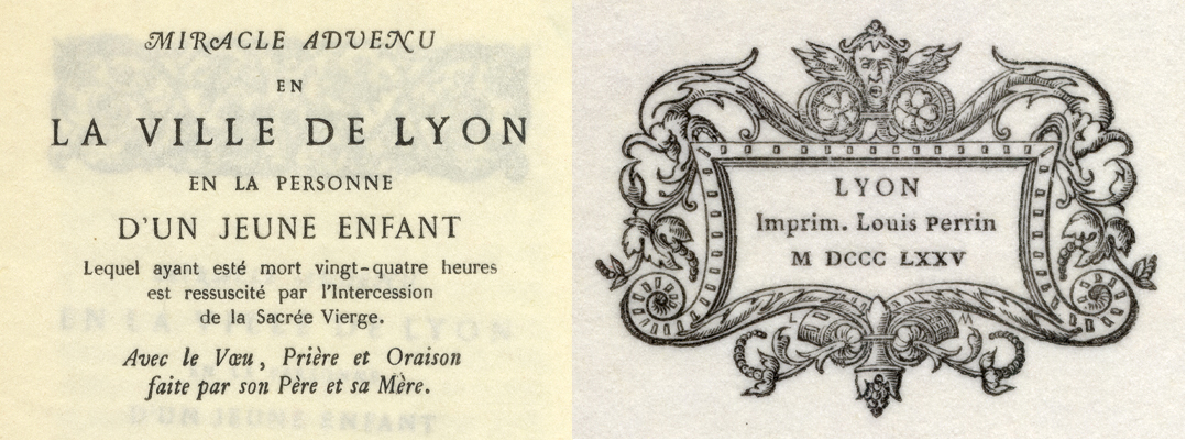 Augustaux types by the 19th-century French printer Louis Perrin