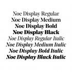 Noe Display styles