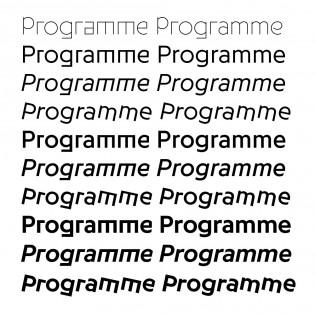 Programme styles