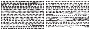 Pufff glyphs