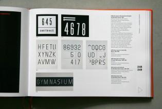 Sign lettering by Ladislav Sutnar served as inspiration for the Ladislav typeface. Photo: Oliver Tomas from Ladislav Sutnar: Prague New York - Design in Action.