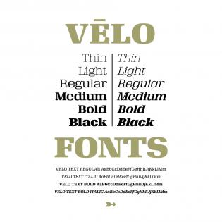 Vēlo Serif overview