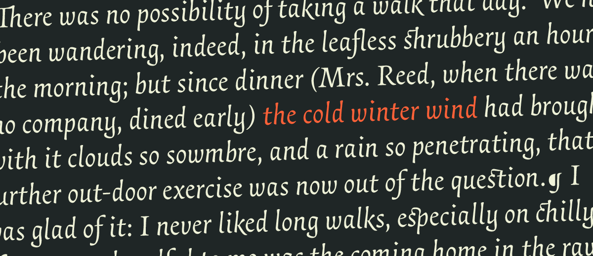 Typeface review: essay text typographica