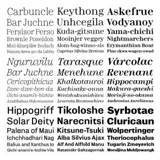Minotaur Serif and Sans