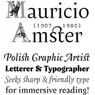 Amster fonts
